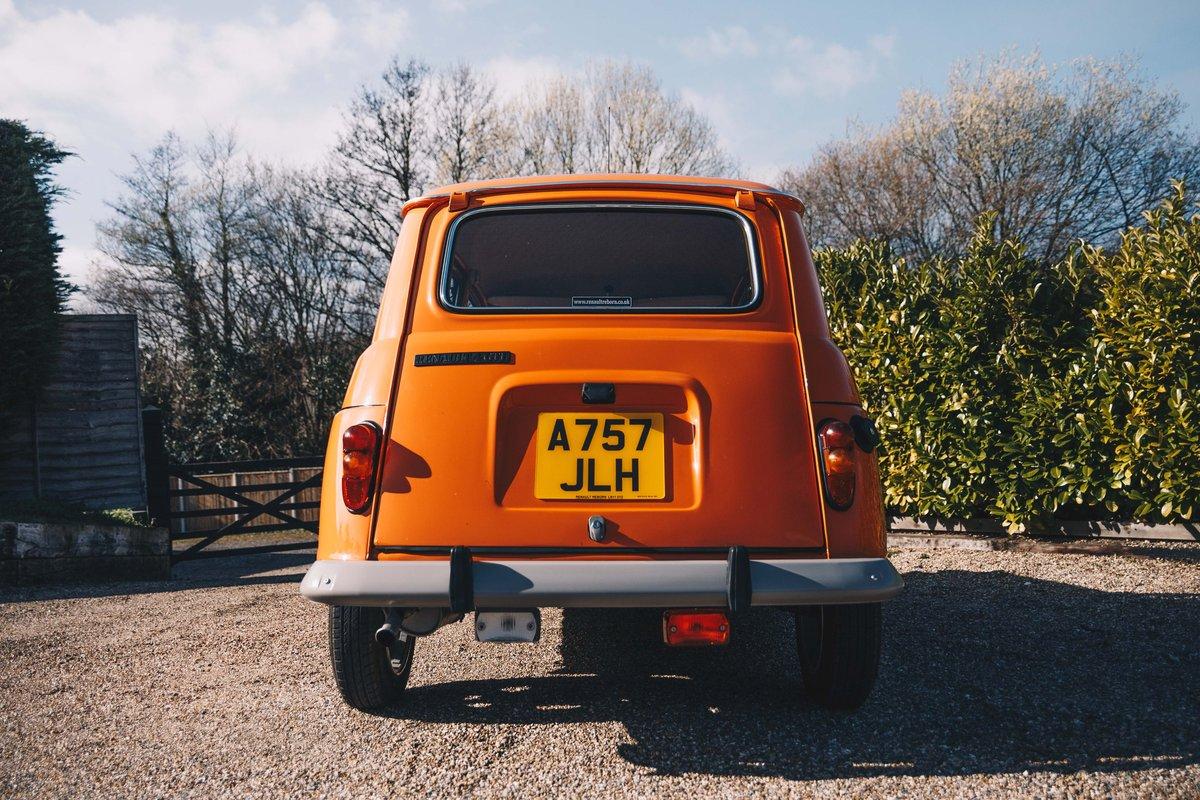 1984 Rhd Renault 4 GTL  SOLD (picture 4 of 6)