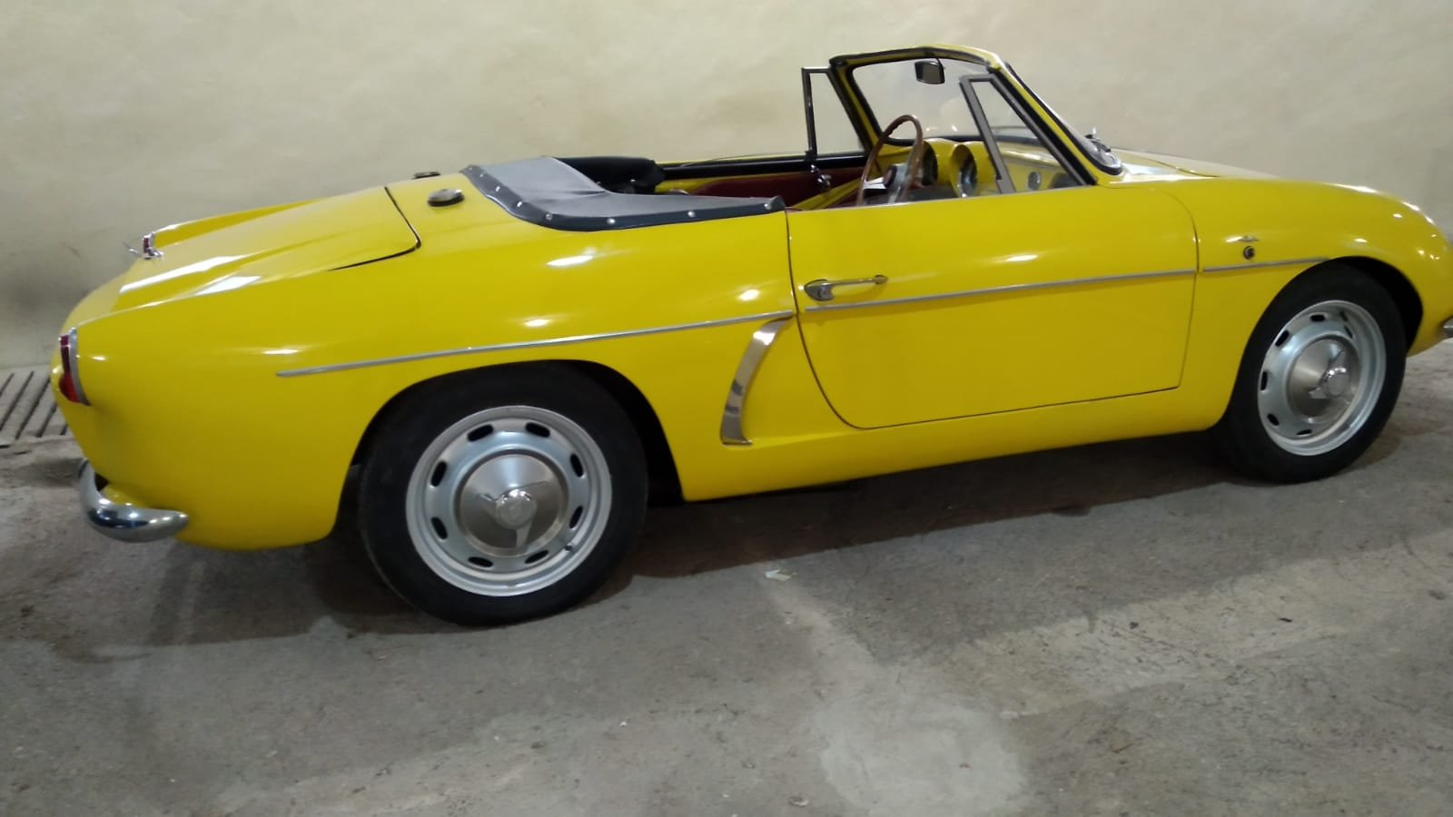 1966 Renault Alpine A108 Cabriolet 850cc.- matching Nr. For Sale (picture 1 of 2)