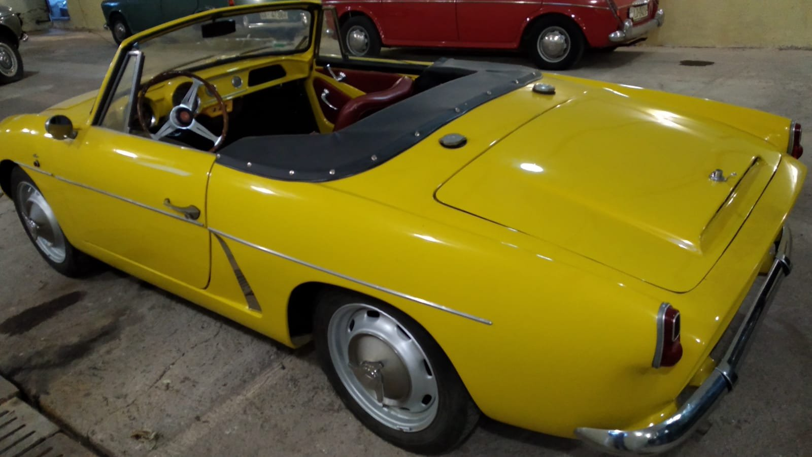 1966 Renault Alpine A108 Cabriolet 850cc.- matching Nr. For Sale (picture 2 of 2)