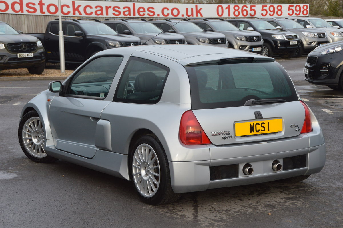 2002 Renault clio v6 230 low mileage For Sale (picture 2 of 6)