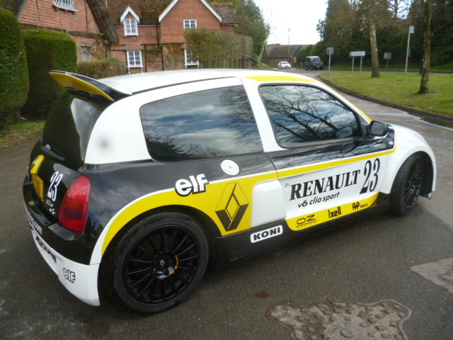 2003 RENAULT V6 24V CLIO For Sale (picture 3 of 6)