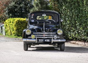 1955 Renault 4CV 'Bouton d'Or'