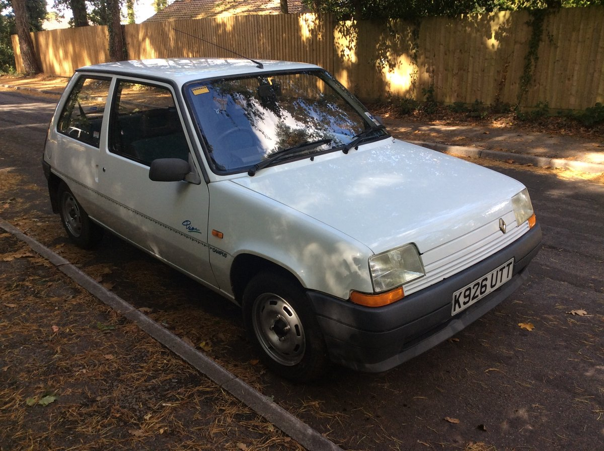 1993 Lovely Renault 5 Campus - 1 Owner to 2019. For Sale (picture 2 of 6)