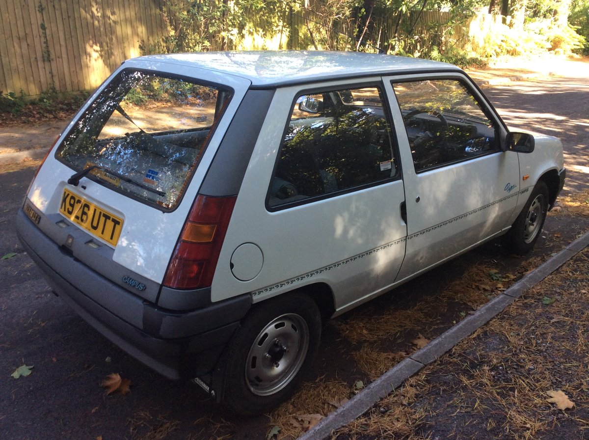 1993 Lovely Renault 5 Campus - 1 Owner to 2019. For Sale (picture 3 of 6)