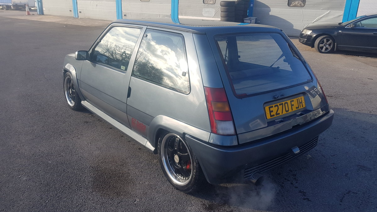 1990 Stunning Renault 5 GT Turbo - DEPOSIT TAKEN For Sale (picture 3 of 6)
