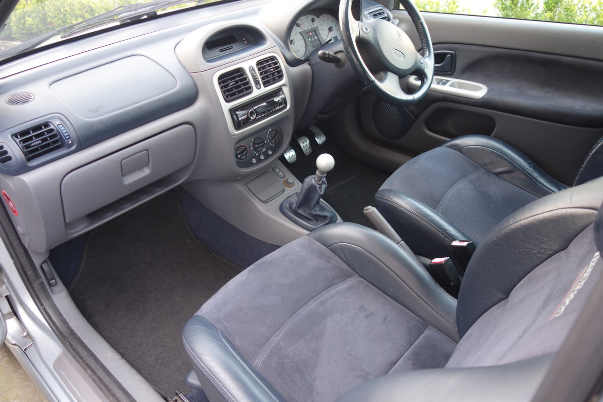2001 Clio 172 phase 1 87k 2 owners For Sale (picture 5 of 6)