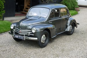 Renault 750 4cv 1954 LHD For Sale