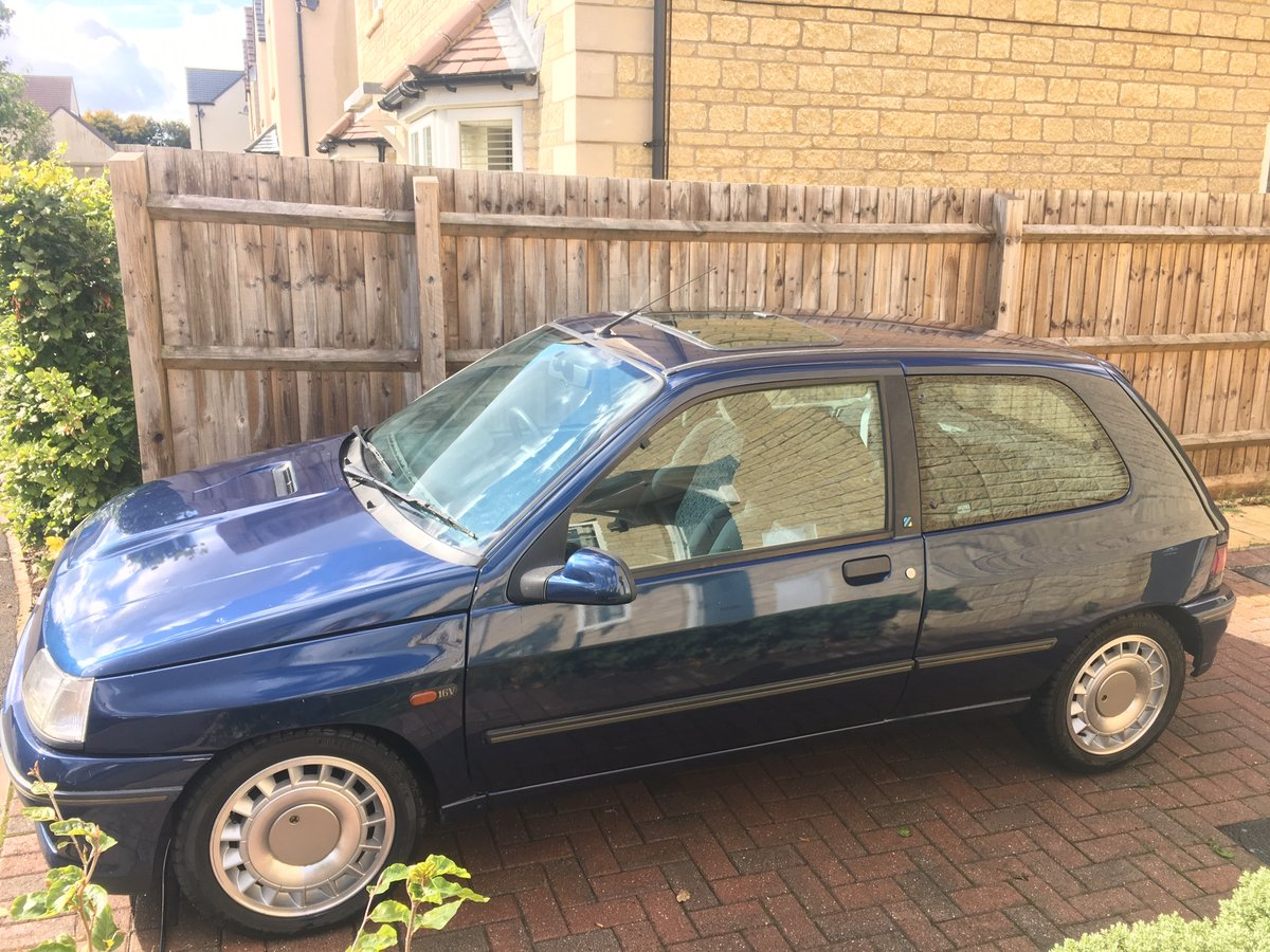 1991 Mk1, Phase 1 Clio J699 FPN For Sale (picture 2 of 6)