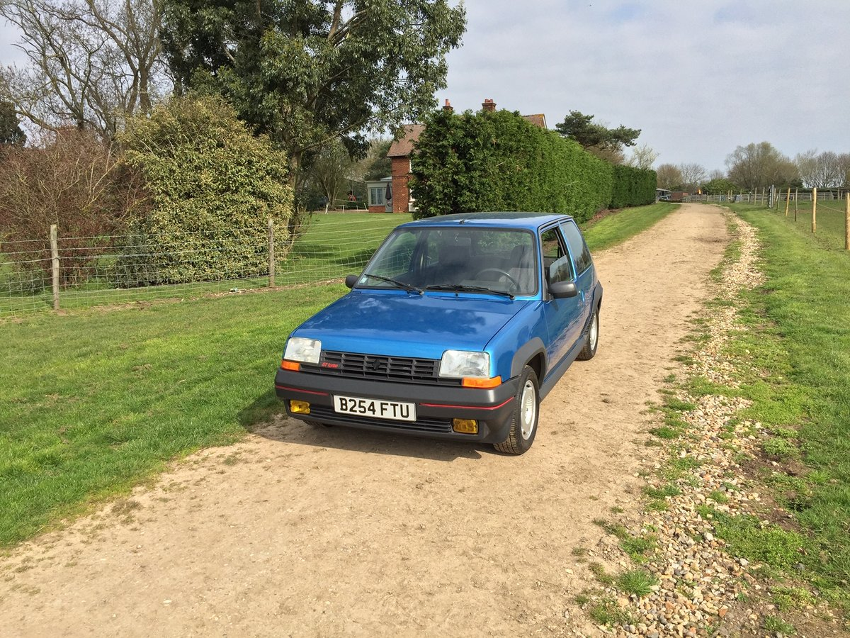 1985 Renault 5 GT Turbo phase 1 For Sale (picture 2 of 6)