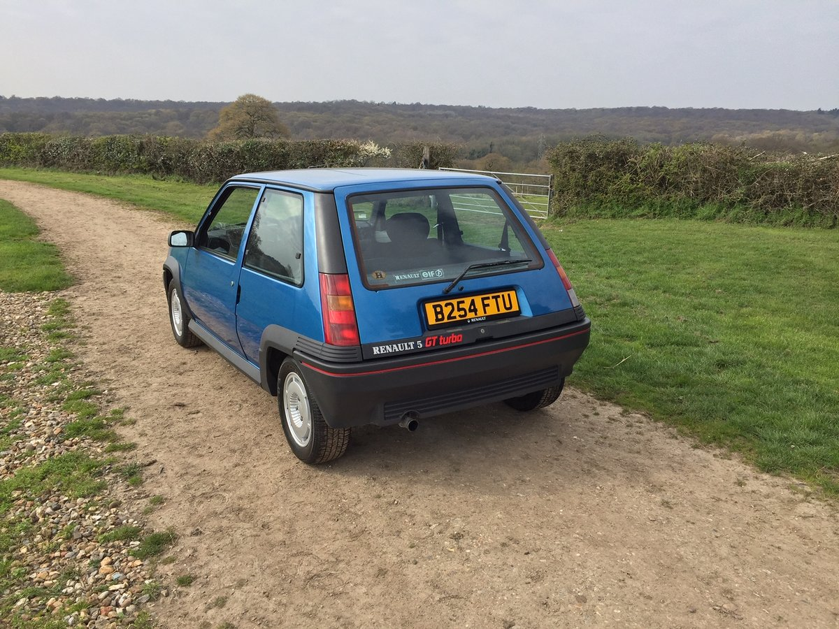 1985 Renault 5 GT Turbo phase 1 For Sale (picture 3 of 6)