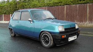 1984 Renault 5 Gordini Turbo Alpine rare low mileage For Sale