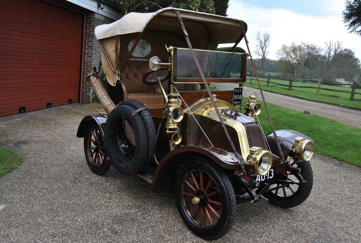RENAULT 1908 AX 8HP - Family Owned For Last 50 Years SOLD (picture 1 of 6)