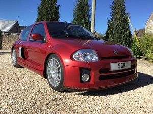 2002 Renault Clio V6 Phase 1 Mars Red For Sale