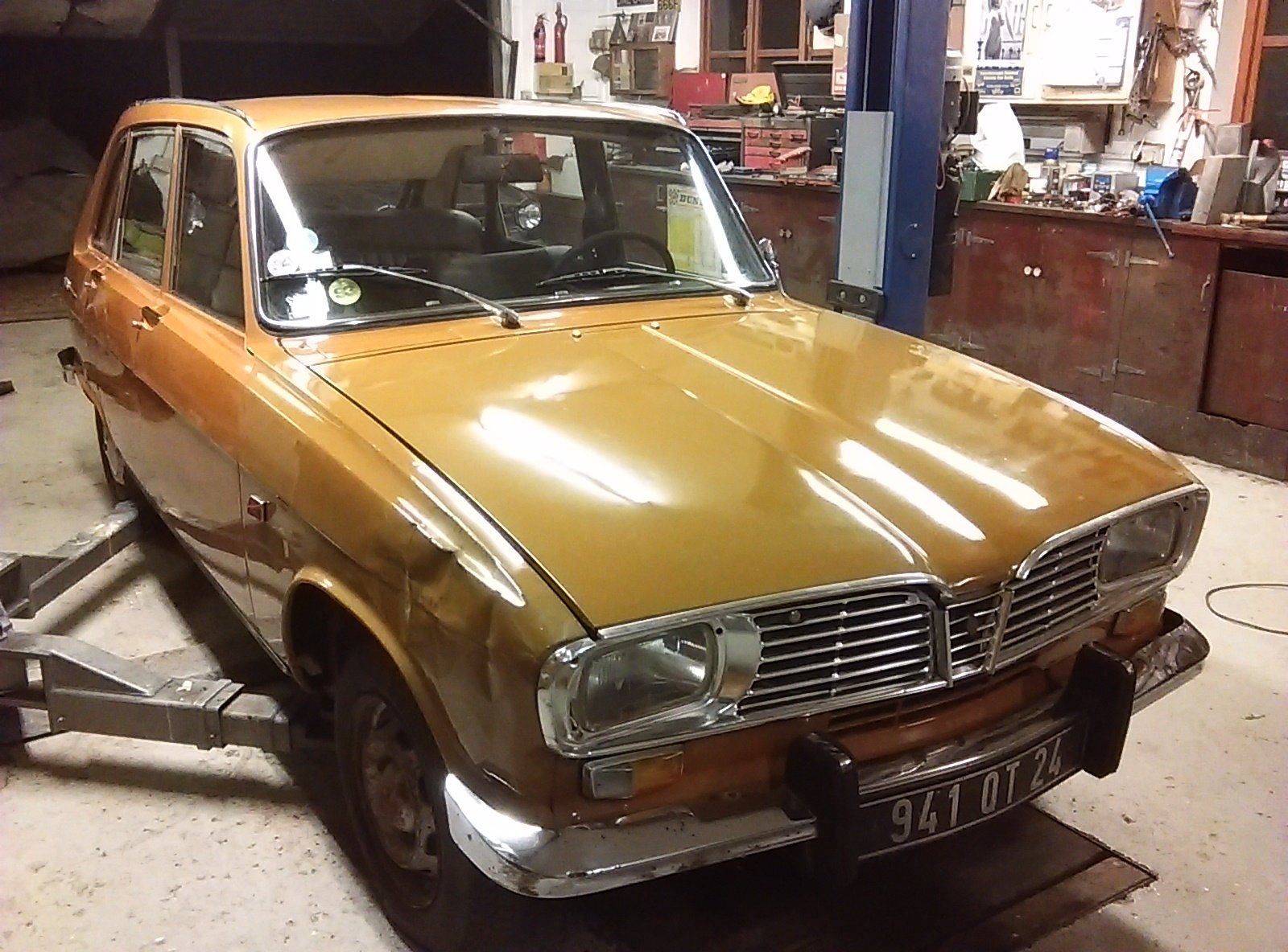 Renault 16 TS.1969.  Very Solid Original Project. SOLD (picture 2 of 6)