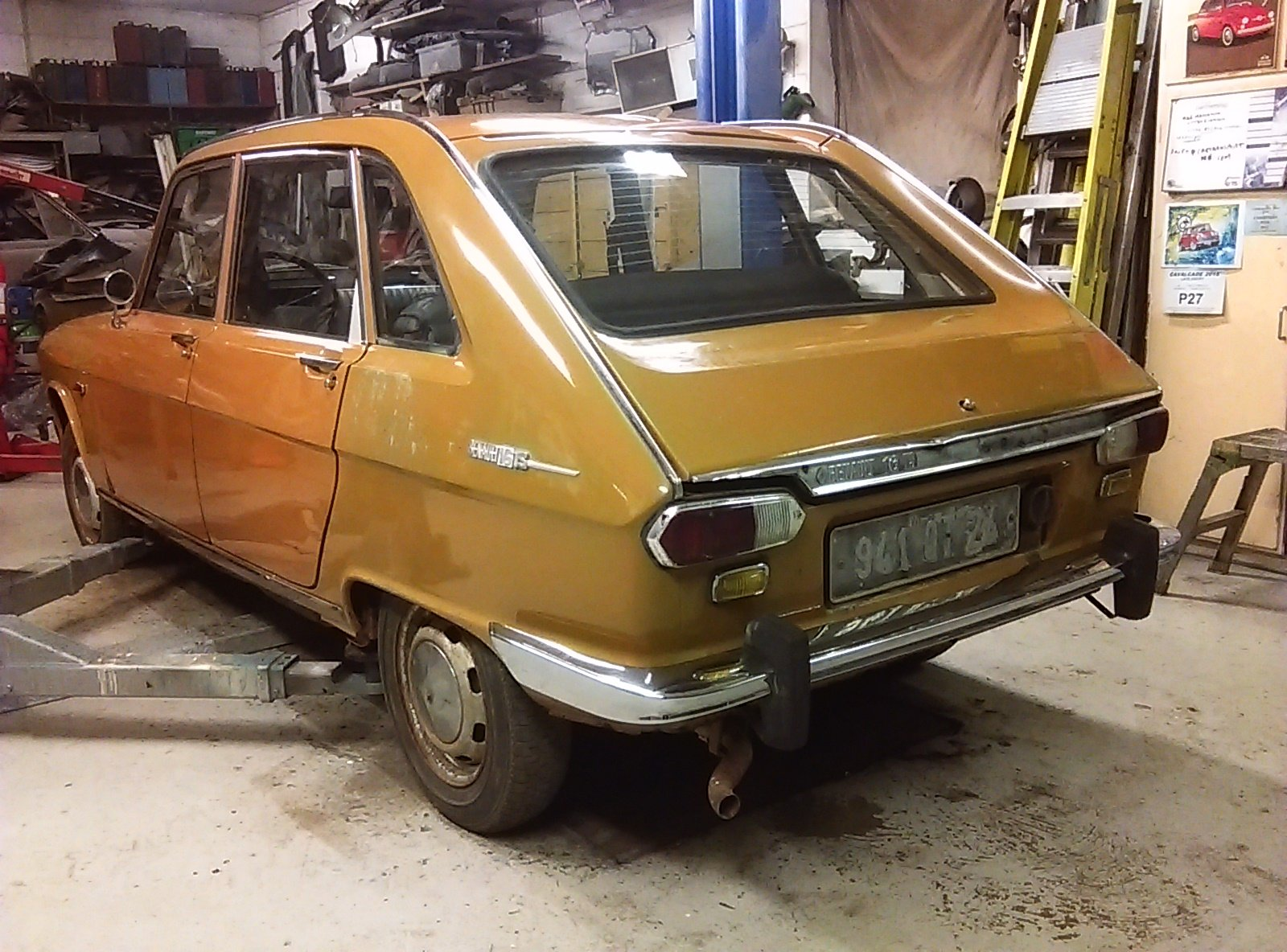 Renault 16 TS.1969.  Very Solid Original Project. SOLD (picture 3 of 6)