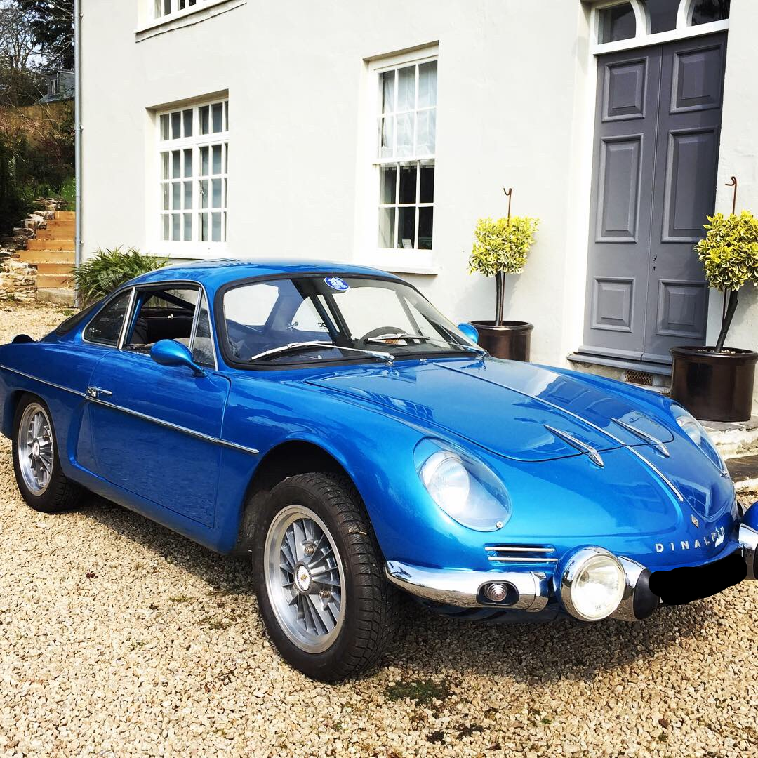 1971 Dinalpin Berlinette Alpine A110 For Sale (picture 1 of 6)