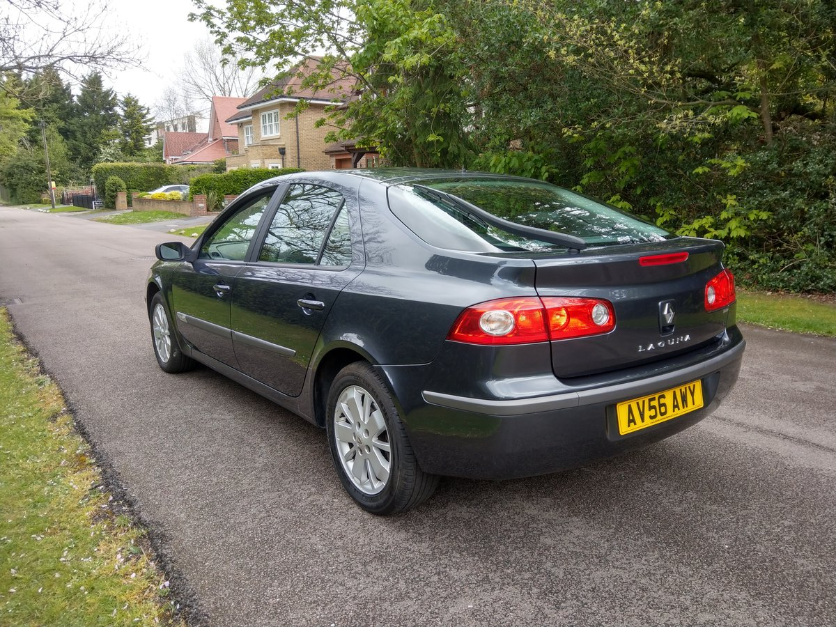 2006 Outstanding Low Mileage Renault Laguna MK11Just 30100 Miles  SOLD (picture 2 of 6)