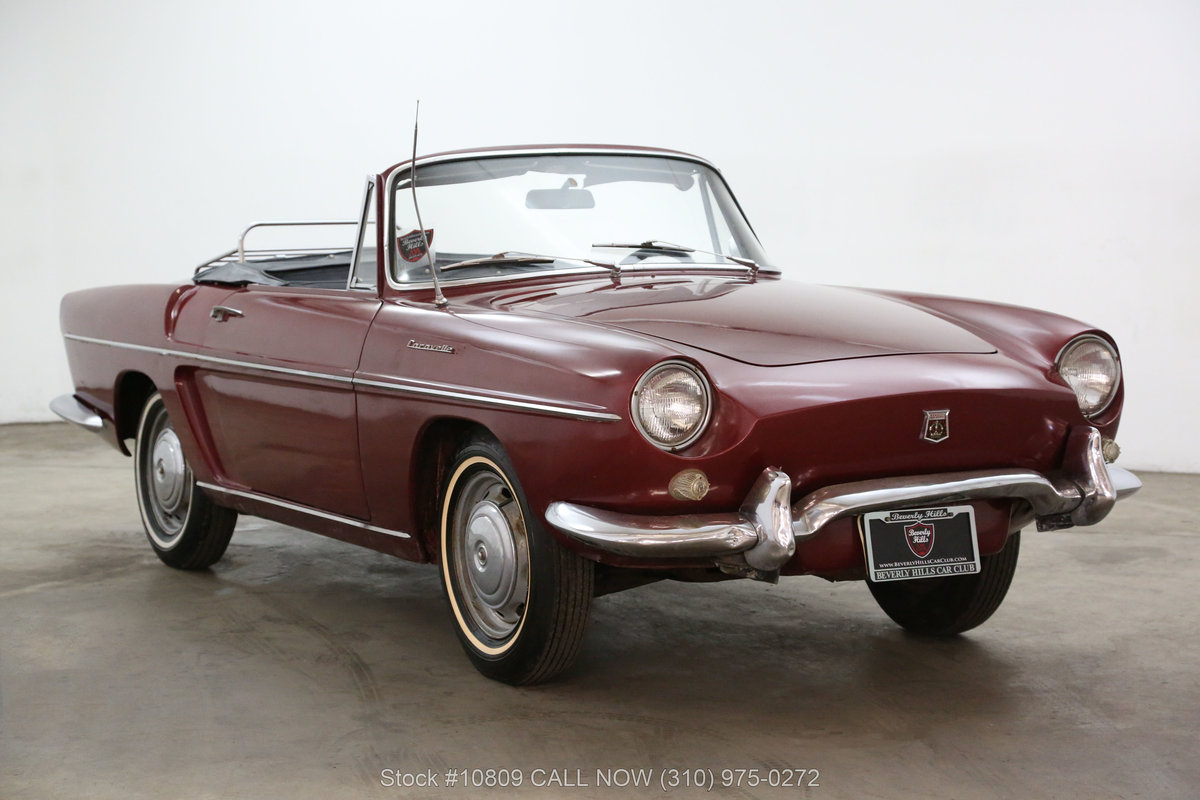 1962 Renault Floride S Convertible For Sale (picture 1 of 6)