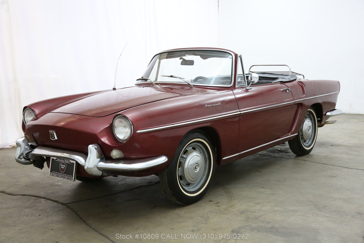 1962 Renault Floride S Convertible For Sale (picture 3 of 6)