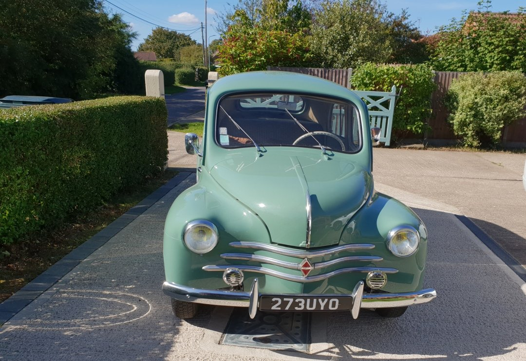 1957 4 cv LHD For Sale (picture 2 of 6)