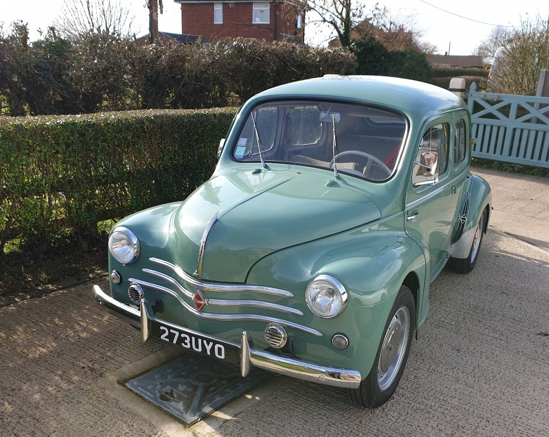 1957 4 cv LHD For Sale (picture 3 of 6)