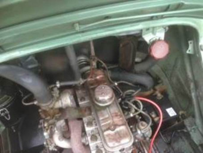 1957 4 cv LHD For Sale (picture 4 of 6)