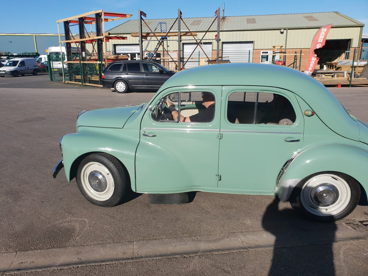 1957 4 cv LHD For Sale (picture 6 of 6)