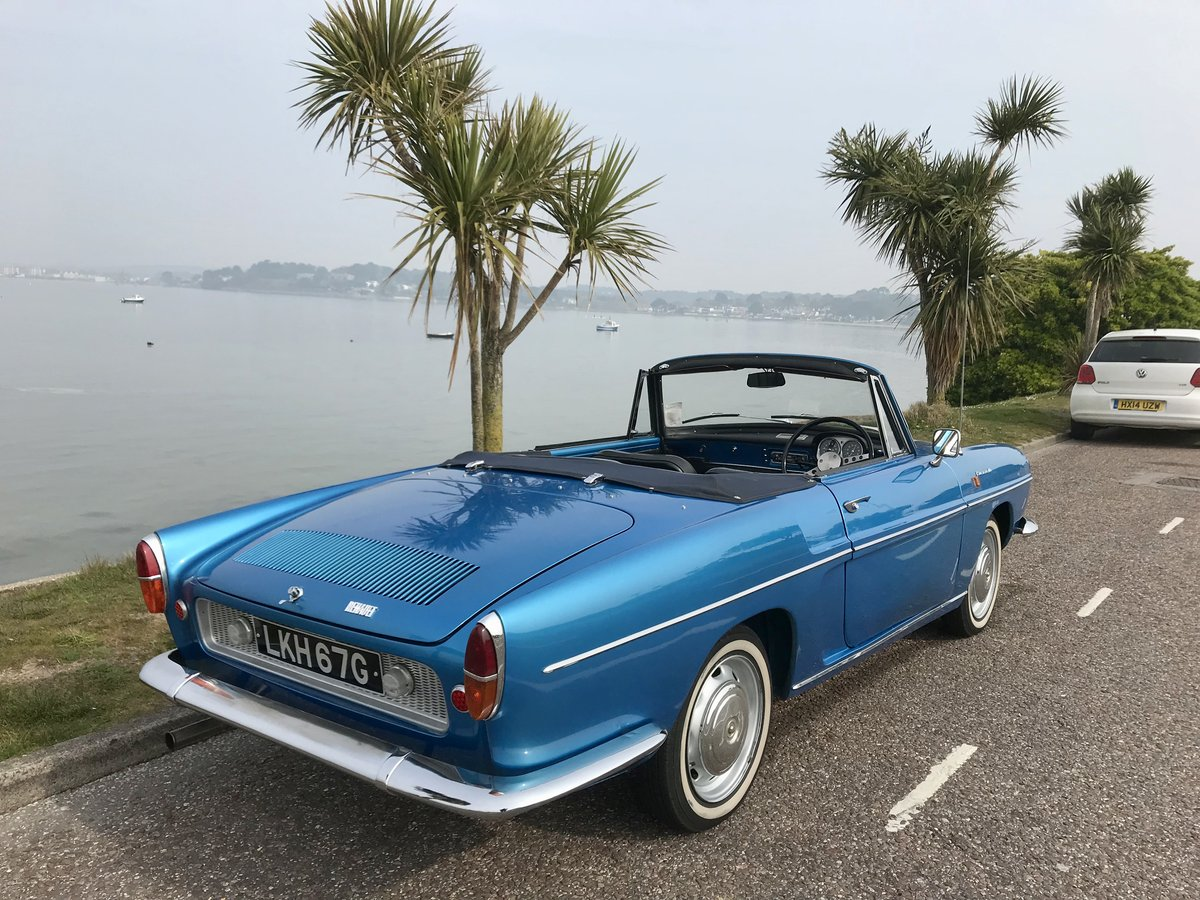 RENAULT CARAVELLE R8 CONVERTIBLE 1968 ONLY 72,000 miles SOLD (picture 2 of 6)