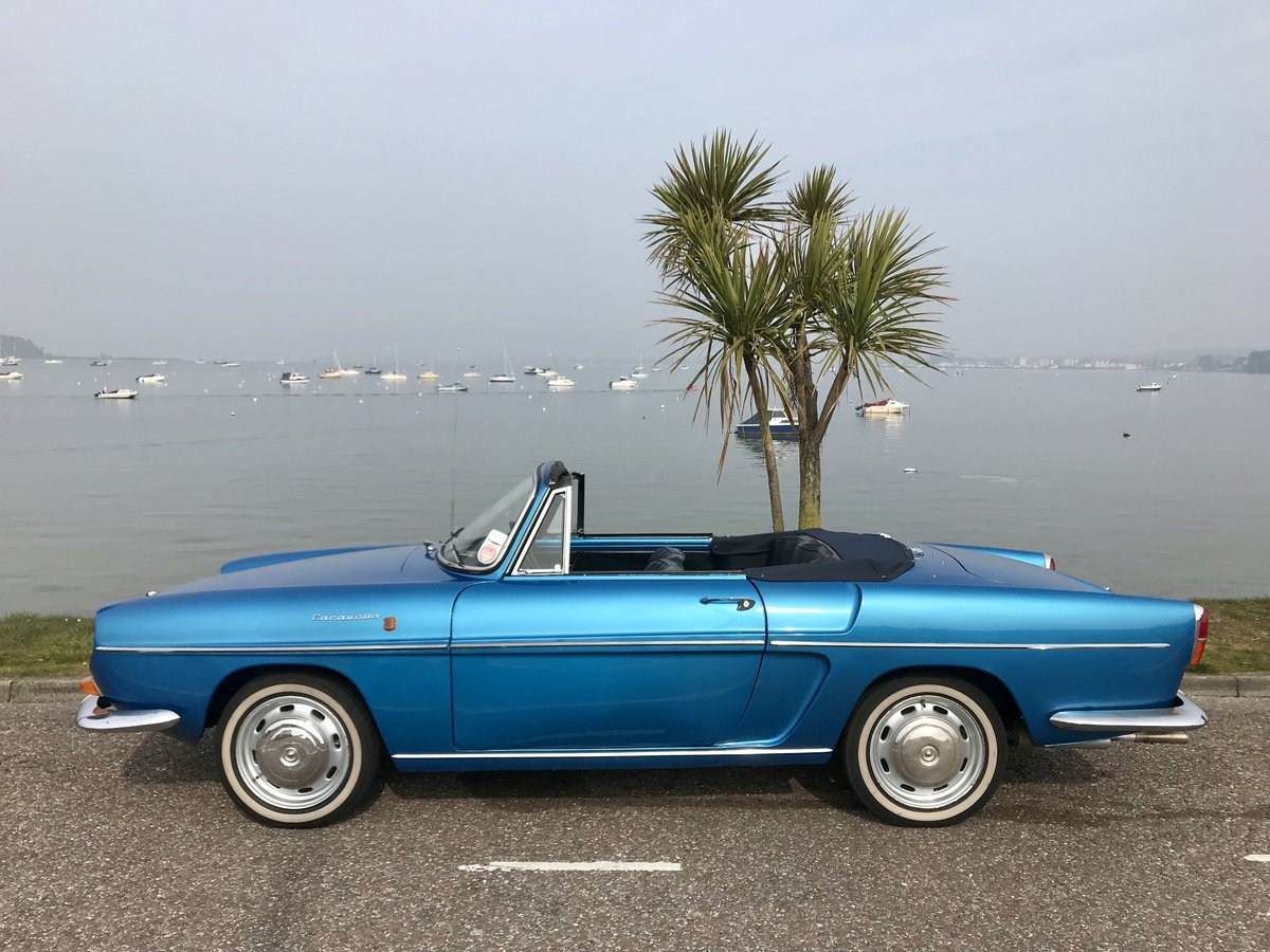 RENAULT CARAVELLE R8 CONVERTIBLE 1968 ONLY 72,000 miles SOLD (picture 3 of 6)