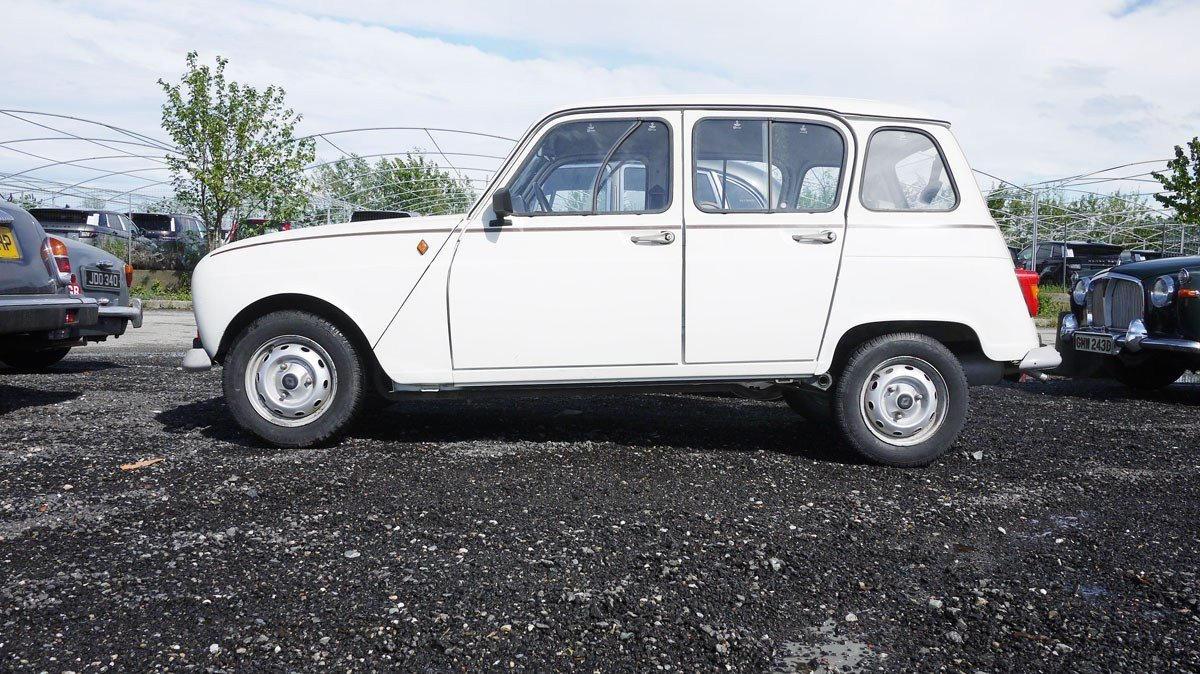 1989 Renault 4 TL For Sale by Auction (picture 2 of 3)