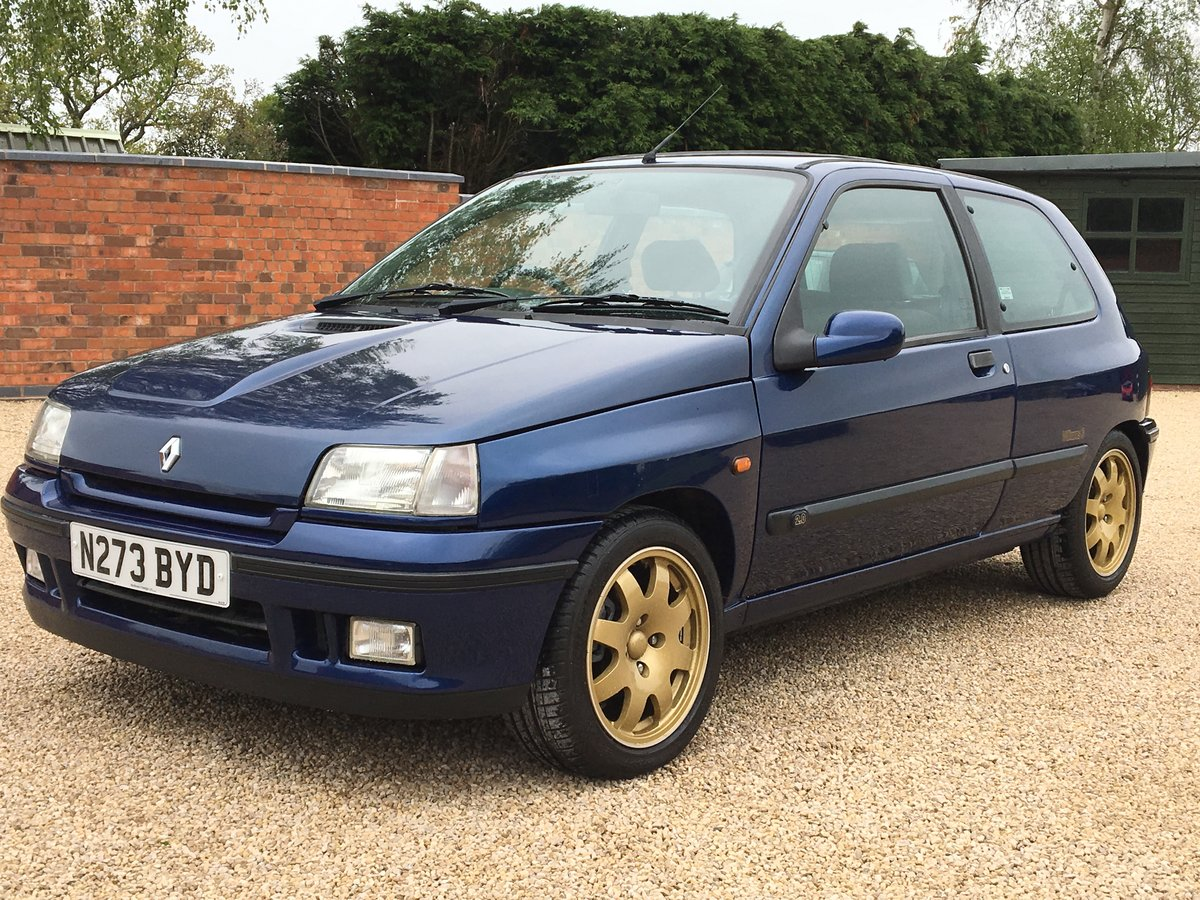 1995 Renault Clio Williams 3