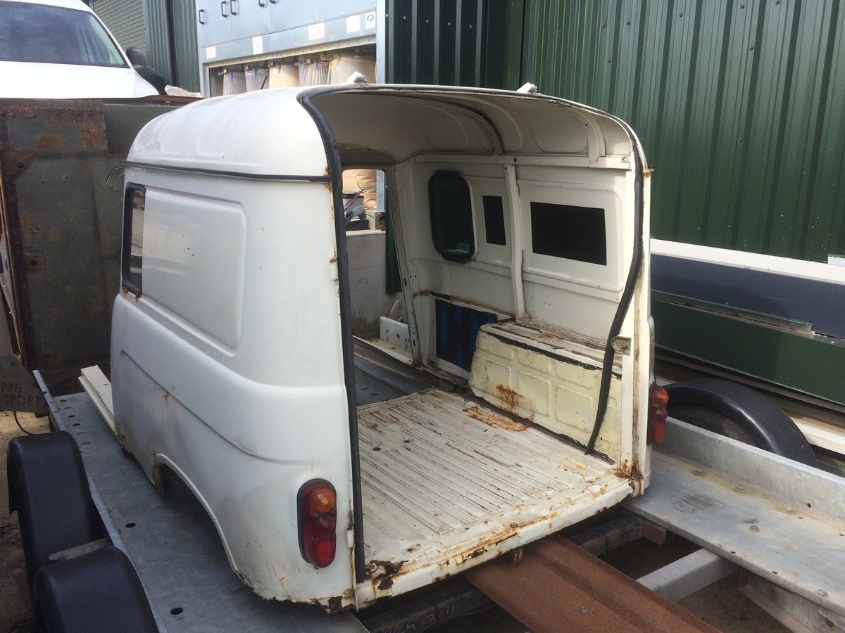 1980 Renault 4 Van Trailer Project For Sale (picture 1 of 6)