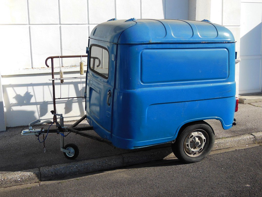 1980 Renault 4 Van Trailer Project For Sale (picture 6 of 6)