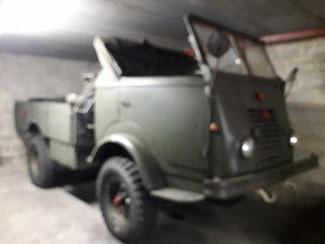 6000 1954 RENAULT ARMY 4x4 For Sale by Auction