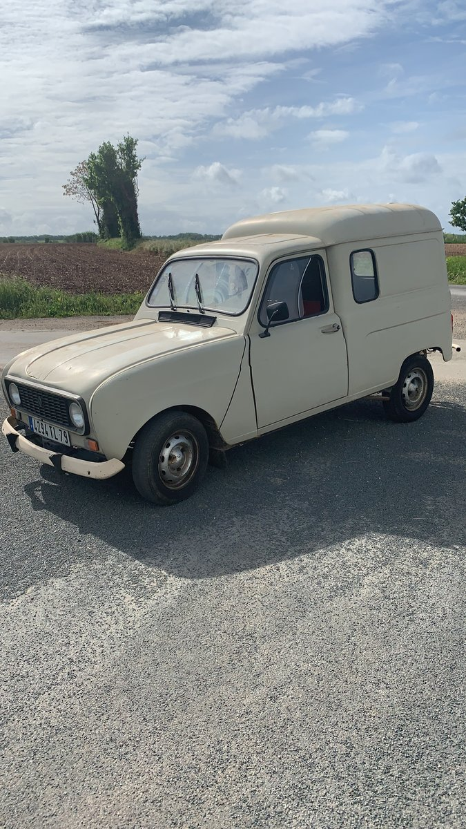 1984 LHD Renault 4van For Sale (picture 1 of 6)