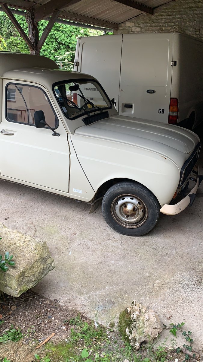 1984 LHD Renault 4van For Sale (picture 2 of 6)