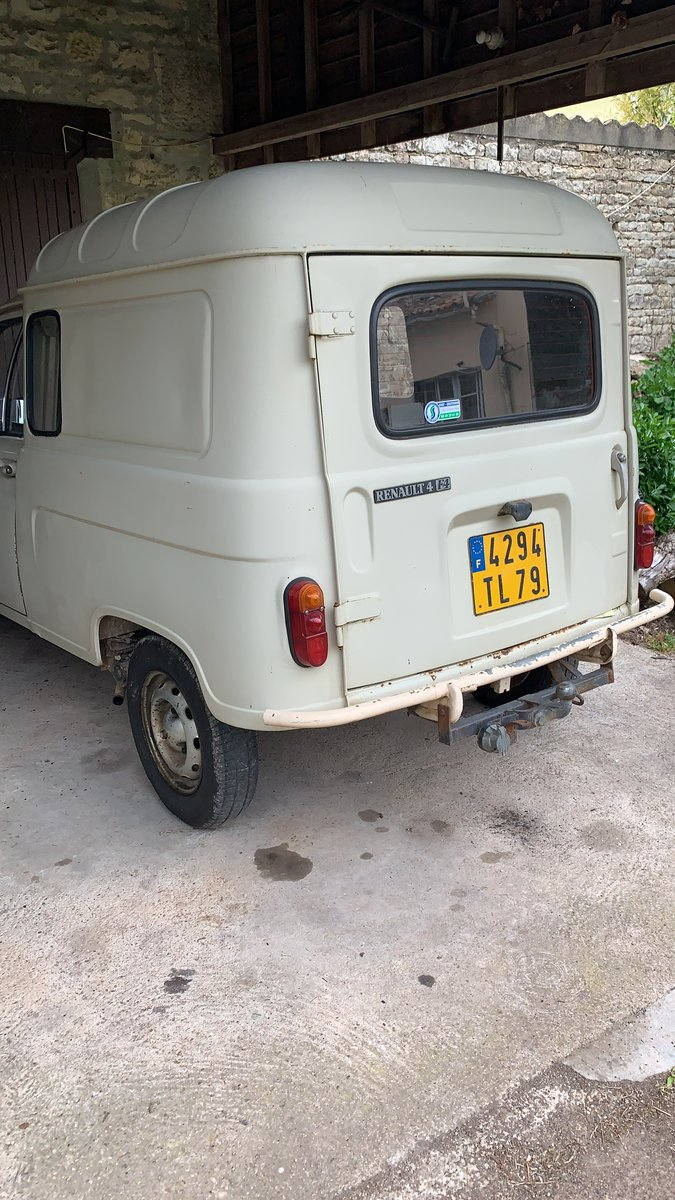 1984 LHD Renault 4van For Sale (picture 3 of 6)