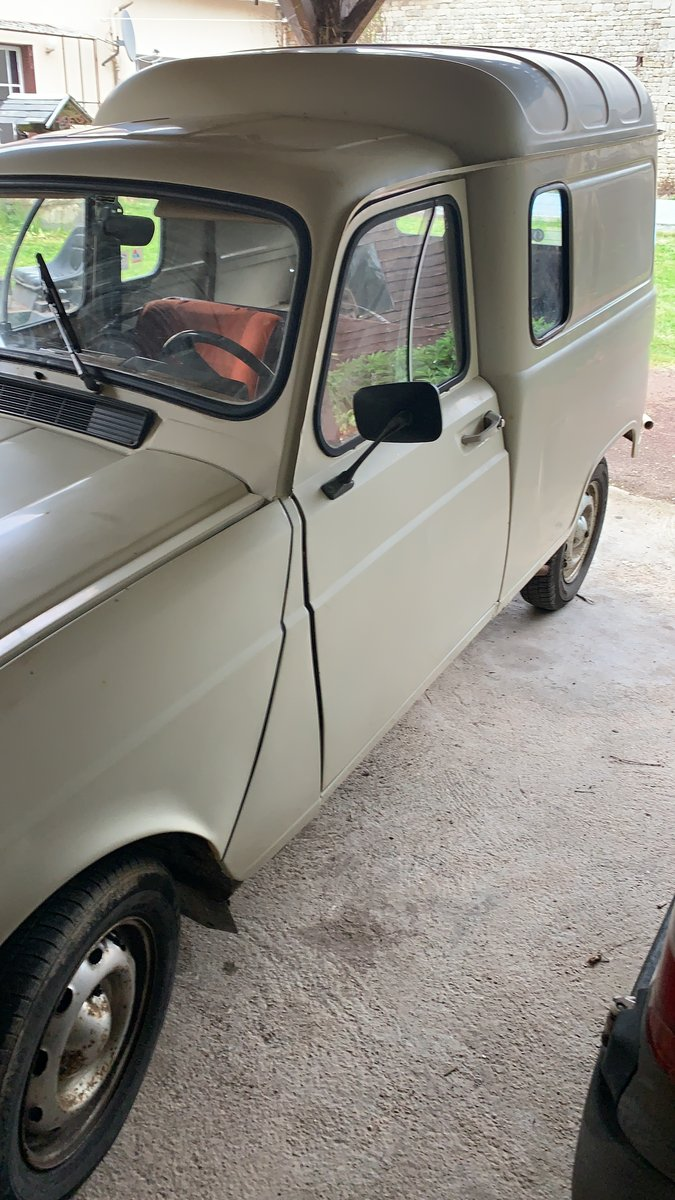 1984 LHD Renault 4van For Sale (picture 4 of 6)