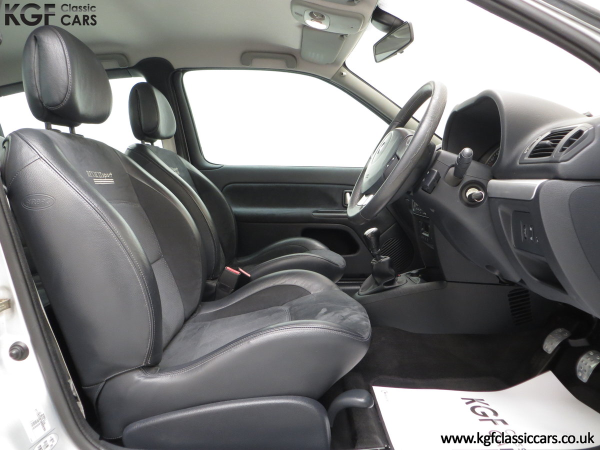 2005 Clio Renaultsport 182 with Cup Suspension & Cup Spoiler Pack For Sale (picture 6 of 6)