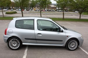 2001 2000 RENAULT CLIO 172 PHASE 1 - ICEBERG SILVER For Sale