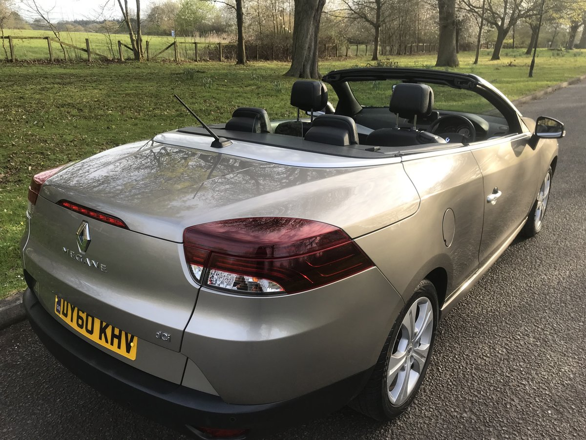 2010 RENAULT MEGANE CABRIOLET ONLY 29000 MILES+FULL HISTORY For Sale (picture 3 of 6)
