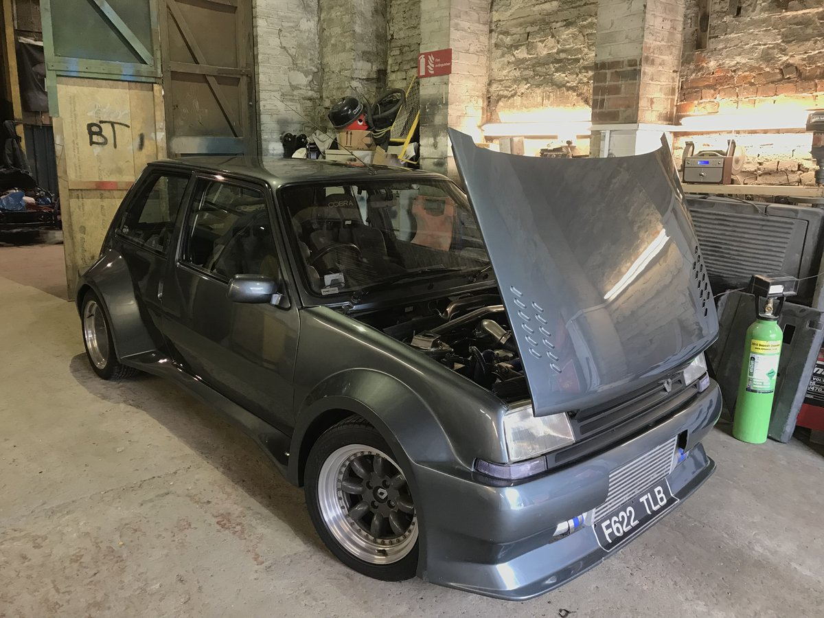 1989 renault 5 gt turbo montacarlo,1 of 2,show winner For Sale (picture 1 of 5)