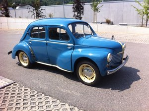 1952 very rare 4CV RHD 1st owner For Sale
