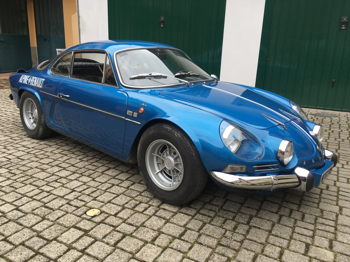 1971 Alpine Renault A110 1600s For Sale (picture 1 of 6)
