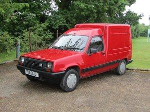 1988 Renault Extra 1.4 Van at ACA 15th June  For Sale