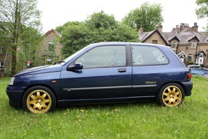 1995 RENAULT CLIO WILLIAMS 3 - 81K - HISTORY For Sale