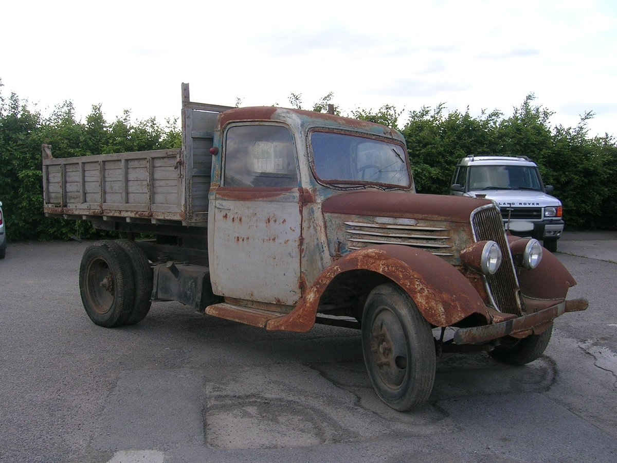 1938 Renault AGC2 Commercial Historic Vehicle Project For Sale (picture 1 of 6)