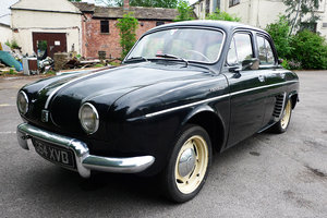Renault dauphine 1957 - stunning car - uk register