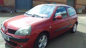 2004 Renault Clio II 1.5 diesel SOLD