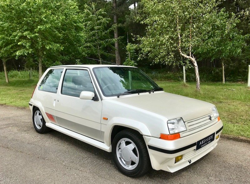 1988 Renault 5 Gt Turbo Phase 2 Wow Low Mileage 80 S Hot